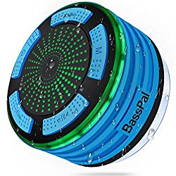 BassPal Waterproof Shower Speaker