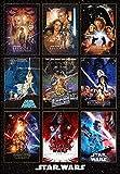 ジグソーパズル Movie Poster Collection Star Wars 1000ピース (51×73.5cm)