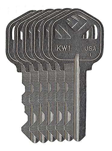 Rekey Kit for Kwikset Smartkey Locks with Extra precut Keys (6)