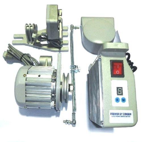 Consew CSM3000 Sewing Machine Electric Servo Motor, 110 Volt, 1HP, 750W