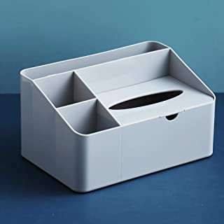 B/H Stockage à Domicile,Boîte de Rangement de Bureau à étagère Simple Home-Gris