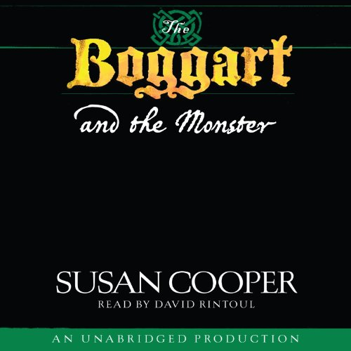 The Boggart and the Monster audiobook cover art