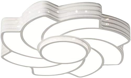 Plafonnier - Acrylic Ceiling Lamp - Salle de mariage minimaliste moderne Chaud rohommetique lampe de plafond Chambre Salon éclairage créatif (Couleur   A-Diamètre 40cm)