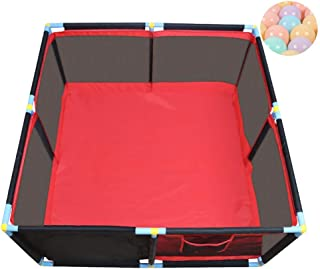 MWPO Infant square  playpen  crawling  activity center  security  security  toddler  household  assembled  indoor  indoor  200 balls included  128x66cm