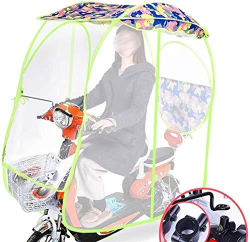 Universal De La Motocicleta Eléctrica Sombrilla Cubierta,Universal Ciclomotor Paraguas Movilidad Parasol Sombra Carpa Paraguas A Prueba De Agua Completamente Cerrado Paraguas Sombra Movilidad Sun