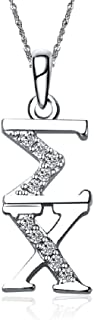Sigma Chi Sweetheart Necklace with a 18
