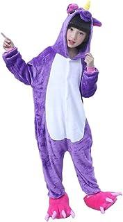 95ff49486 Licy Life-UK Unisex Niños Niñas Pijamas Unicornio Onesies Cosplay Traje  Disfraz Cartoon Animal Pyjamas