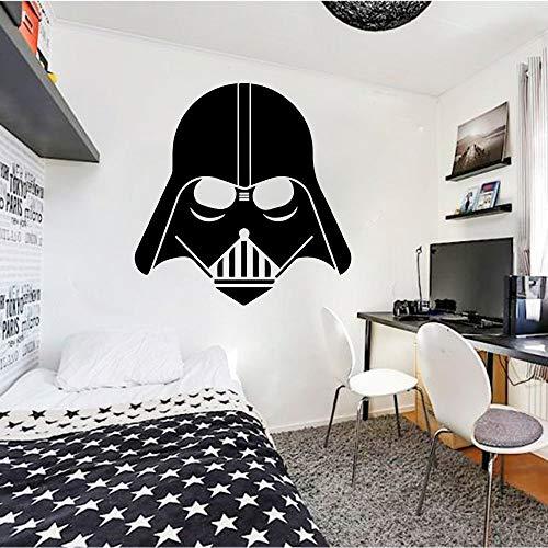 yaofale Wandaufkleber für Kinderzimmer Darth Vader Home Decoration Schlafzimmer Aufkleber Kunst Wandtattoos Jungen Mädchen Teen Zimmer