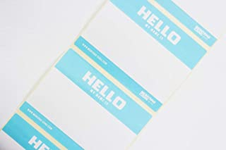 Montana Hello My Name is Stickers (40pcs)