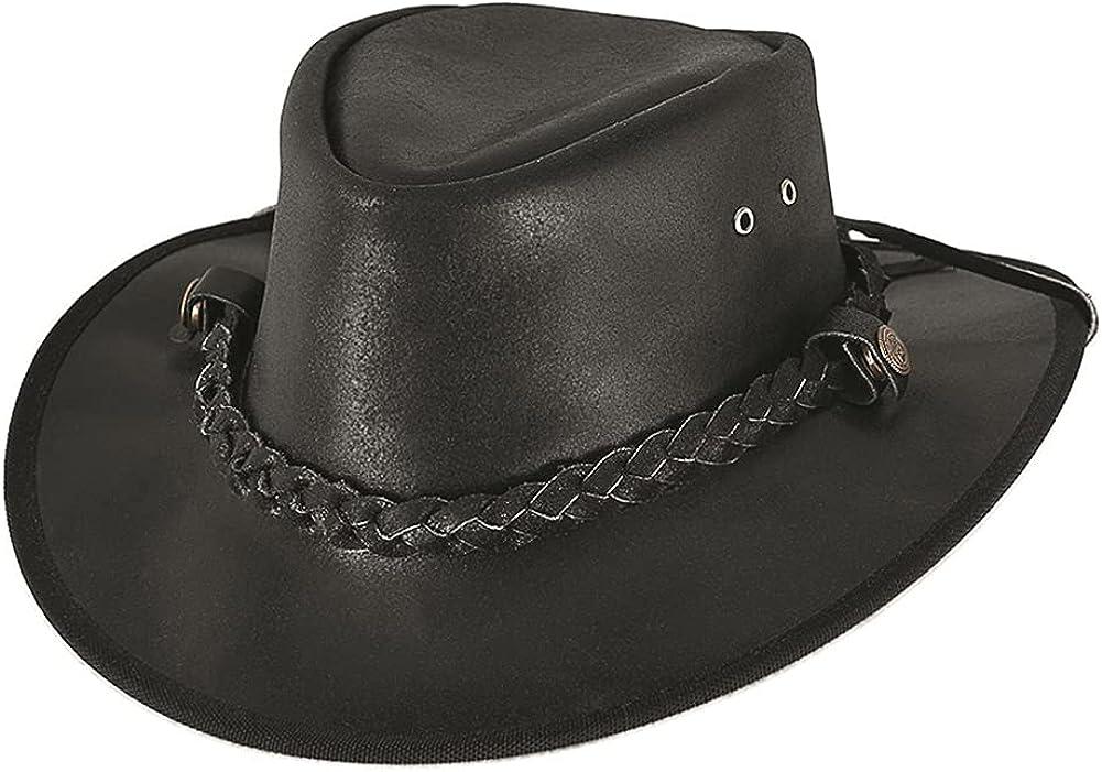 BULLHIDE Cessnock Genuine Leather Western Cowboy Hat, 3