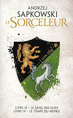 Le Sorceleur - T3 le sang des elfes & T4 le temps du mépris - Edition double