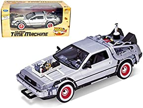 "Maisto Delorean From Movie Back To The Future 3"" 1/24 Car by Welly"