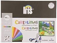 CANSON Cartulina 10 Hojas A4 Colores surtidos 400045652