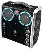 Singing Machine SML-383 Reproductor de karaoke CD-G portátil y paquete de fiesta de 3 CDGs -...