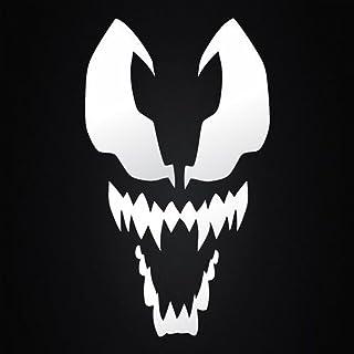 Spiderman Venom Decal Vinyl Sticker| Cars Trucks Vans Walls Laptop| White |3.5 x 5.5 in | KCD298