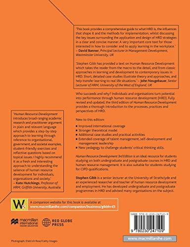 Human Resource Development: Foundations, Process, Context