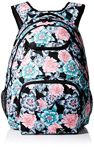 Roxy Women's Shadow Swell Backpack, anthracite sample crystal flower, 1SZ