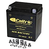 Caltric Agm Battery Compatible With Harley Davidson Flhtcu...