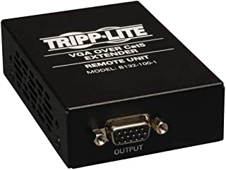 Tripp Lite VGA Over Cat5 / Cat6 Extender, Receiver, 1920x1440 at 60Hz (B132-100-1)