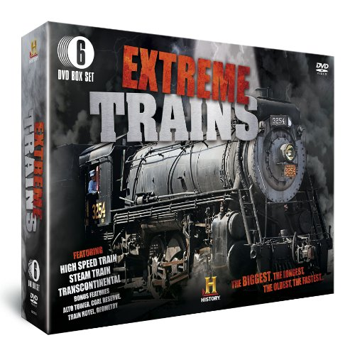 Extreme Trains (6-Disc Box Set) [DVD] [Reino Unido]