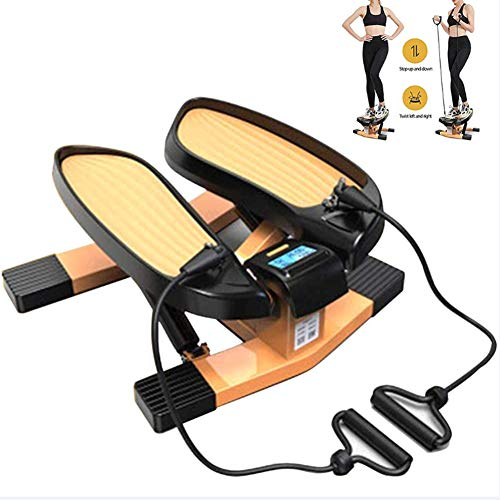 LJYLF Fitness Mini Stepper, Silent Mini Stepper...