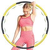 ButerDem Hoop - Aro con capucha para adultos para reducir el peso, con pesos de...