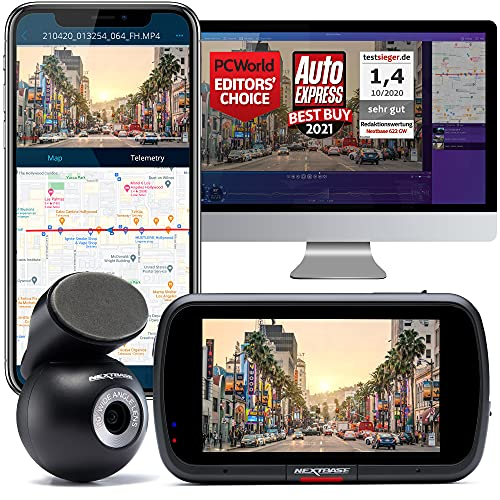Nextbase 622GW Dash Cam Front and Rear Camera- Full...