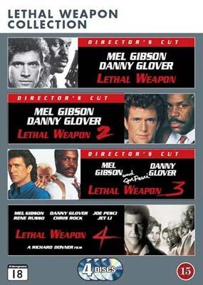 Gran Seleccion Arma letal 1-4 Montaje del director (Lethal Weapon 1-4 - Complete Collection) (Director's Cut) (Region 2) (Escandinavos Edición) (Lengua Español y subtítulos en español)