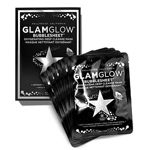 GLAM GLOW - Bubblesheet Oxygenating Deep Cleanse Mask (6 Masks)