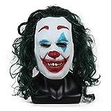 SLM-max Máscara Muy aterradora Máscara de Joker Accesorio de Disfraz de...
