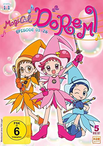 Magical Doremi - Staffel 1.1: Episode 01-26 [5 DVDs]