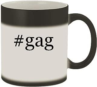 #gag - 11oz Hashtag Magic Color Changing Mug, Matte Black