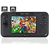 YunJey Handheld Game Console, Portable Game Player Built-in 208 HD Classic Games 4' LCD Retro Gaming System, Support...