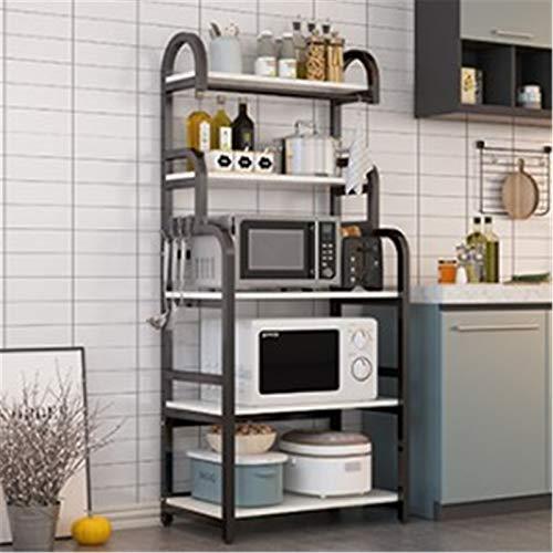 Tipo de cocina Tipo de piso Multi-capa Microondas Microondas Estante de almacenamiento Horno de almacenamiento Almacenamiento Multifunción Mueble Gabinete Estante de almacenamiento de cocina