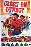 Carry On Cowboy Movie Poster (27,94 x 43,18 cm)