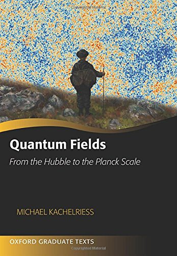 Quantum Fields: From The Hubble To The Planck Scale