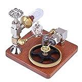 Modelo de motor de vapor Pistón Modelo de motor Stirling Control de velocidad...