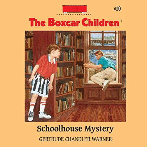 Schoolhouse Mystery audiobook cover art
