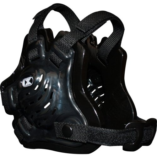 Cliff Keen Tornado Wrestling Headgear-Black-ADULT