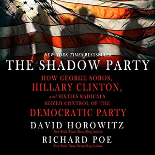 The Shadow Party audiobook cover art
