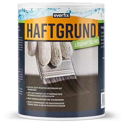 EVERFIX Haftgrund Bitumen Voranstrich Grundierung – lösungsmittelfrei schnell abbindend (1kg)