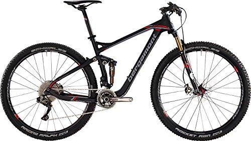 Bergamont Fastlane MGN Carbon MTB 29'' Fahrrad schwarz/grau/rot 2015