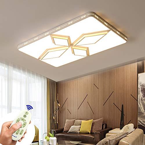 Preisvergleich Produktbild COOSNUG Deckenleuchte LED 72W Deckenlampe Dimmbar Rhombus Modern Deckenleuchten Schlafzimmer Küche Flur Wohnzimmer Dachlampe 3000-6500K