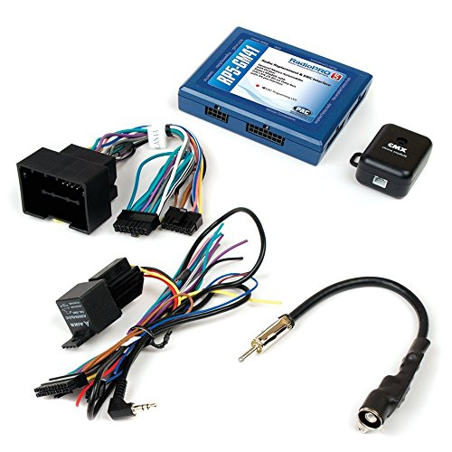 PAC RP5-GM41 Radio Replacement Interface with SWC and Navigation Outputs for Select Chevrolet Sonic/Spark Vehicles With OnStar