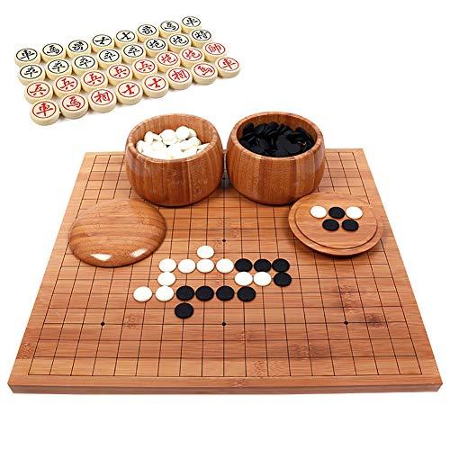 Chinese Go Chess 2 en 1 Go Game Juegos de mesa, 2...