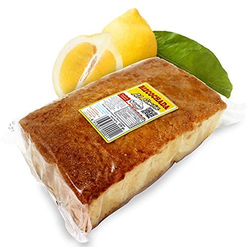 Ketydul Dulces Kety - Bizcochada al Limón Elaborado de Manera Artesanal Dulce Tradicional de Fabricación Española, Envasado a Mano, Yogur, 375 Gramos