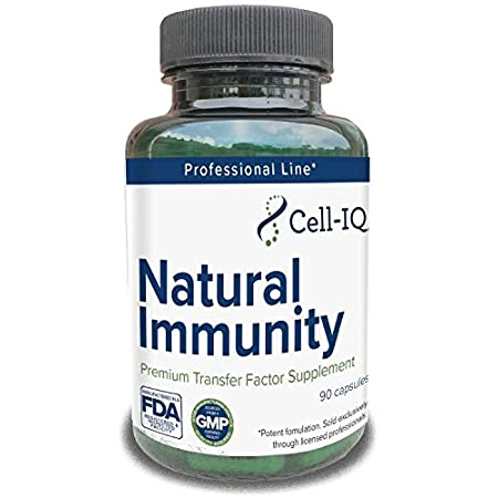 Corona Virus protection products Cell-IQ Natural Immunity Transfer Factor Immune Support Probiotics with Zinc, Vitamin