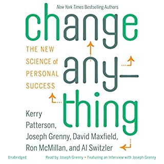 Change Anything audiobook cover art