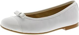 Zapatos Niña Comunión Clarys 5590 Blanco