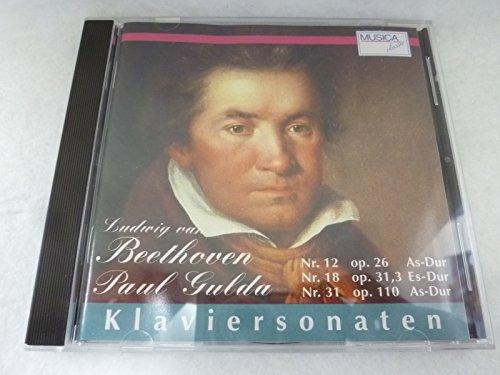 Klaviersonaten Op.26,31,110